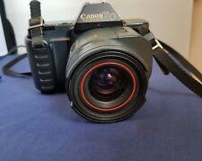 Black Canon T80 auto focus camera -F2