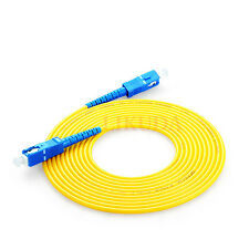 10M Fiber Optic Single-Mode Simplex Patch Cable Cord SC-SC Optical Fiber Cables