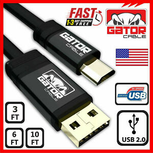 Micro USB Cable Fast Charger 2.0 Sync Data For Samsung Android HTC Motorola LG
