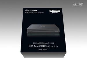 Pioneer BDR-XS07B-UHD Portable 4K Ultra HD Blu-ray Drive USB-C DHL Fast Ship NEW