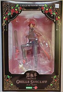 KUROSHITSUJI, BLACK BUTLER, Book of Circus, GRELL, Artfx J, KOTOBUKIYA, New!