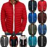 Men's Puffer Bubble Down Jacket Coat Lightweight Hooded Padded Packable Outwear