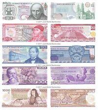 50 pesos 1981//83 Lot of 3 Notes 100 Mexico Banknotes paper money lot $ 500