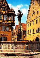Rothenburg o.d. Tauber , St. Georgsbrunnen, Ansichtskarte ungelaufen