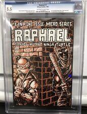 TMNT RAPHAEL #1 1985 Teenage Mutant Ninja Turtles Mirage Casey Jones CGC 5.5
