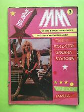 ►►Polish magazine Magazyn Muzyczny 1988 Doro Pesch Bryan Adams The Doors Sinita