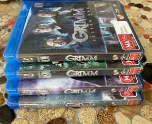 GRIMM the Complete Seasons 1 2 3 4: LIKE NEW BLU-RAY BOXED SETS