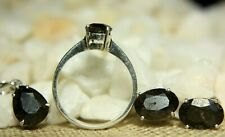 Outer Space Rocks Fine Jewelry The Asteroid Meteorite Collection Set in Silver