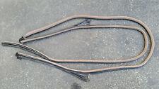 BMW E36 Set Black R L Door Seal Weatherstrip Convertible OEM 318 323 325 328 M3