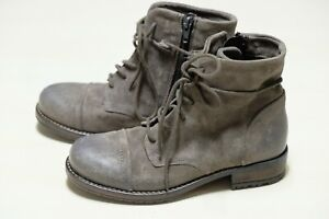 Clarks Grey suede ladies ankle boots size 4/37 D