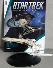 Star Trek Online Kampfkreuzer : A. F.S.Khitomer Schlachtkreuzer #16 Eaglemoss