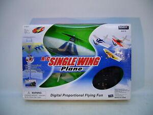 Silverlit Toys R/C Single Wing Foam Plane Radio Control Digital Proportional