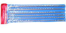 6 PUNTE MURO SDS plus 450 mm PER TRAPANO TASSELLATORE Ø 6, 8, 10, 12, 14, 16 mm