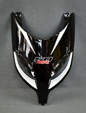 NEW GENUINE APRILIA SR 50 INJECTED + CARB. FRONT FAIRING, AP. BLACK AP8249923