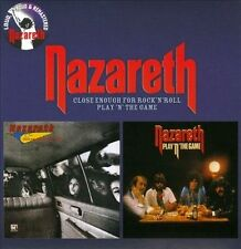 Close Enough for Rock 'n' Roll/Play 'N' the Game [Digipak] by Nazareth CD