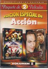 El Regreso De La 4 x 4 / Te Pusieron Dedo Compa Arellano DVD NEW Accion Vol 10