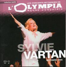 ☆ Sylvie VARTAN Olympia Octobre 1996 - Livre & CD Ltd edition limitée   ☆