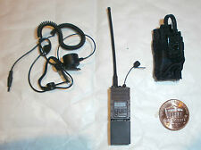 Dam Toys Navy Seal Recon líder AN/PEC-148 radio y auriculares Juguete de escala 1/6th