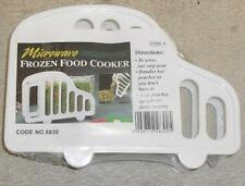 FROZEN FOOD HOLDER MAGIC MICROWAVABLE RACK. FOR USE WITH COOKING SACHETS.