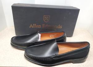 Men's Allen Edmonds Black Sanibel Slip On Loafer Size 11 D