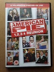 American Pie 1, 2, 3 and Reunion films. (2012) 4 discs. Jason Biggs.