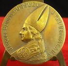 Médaille Jacques Benigne Bossuet Evêque Meaux par l' Abbé A J Corbierre Medal