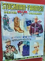 Vintage western wear clothing tack boots cowboy book paper catalog orig. 1939-40