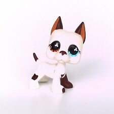 White LPS GREAT DANE #577 Littlest Pet Shop Toys dog