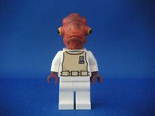 Lego Figurine Minifig Star Wars - Amiral Ackbar Neuf New / Set 7754