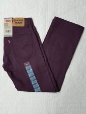 NEW BOYS LEVIS 505 STRAIGHT FIT PURPLE POTION JEANS SZ 12,14,16 NWT