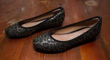Hush Puppies - Leopard Design Ballet Flats - SZ 5 Aus - Shoes