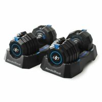 NEW NordicTrack Select-a-Weight 55 Lb. Adjustable Dumbbell Set, Pair
