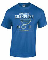 St. Louis Blues 2019 Stanley Cup Champions T-Shirt