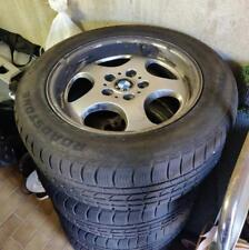 Quattro cerchioni bmw x3 + pneumatici Roadstone più 4 235.55.17 m+s 103v usati