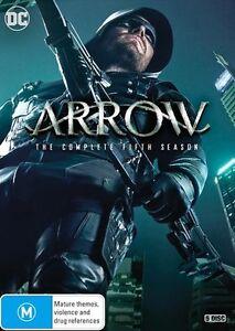 ARROW : Season 5 : NEW DVD