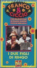 FRANCO E CICCIO - I DUE FIGLI DI RINGO (1966) VHS