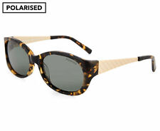 Cancer Council Women's Georgina Polarised Sunglasses-Mottled Tortoise/Gold/Khaki