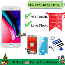3D Touch - For iPhone 7 Plus White Front Panel LCD Digitizer Screen Replacement