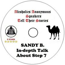 Alcoholics Anonymous AA Speaker CD - Sandy B. Indepth Talk On Step 7