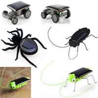 Educational Solar Powered Robot Toy Solar Powered Toy Gadget Car Spider Kid Toy