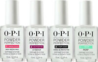 OPI Powder Perfection Dipping System liquid kits. COMPLETE Set of 4 STEP * 0.5OZ