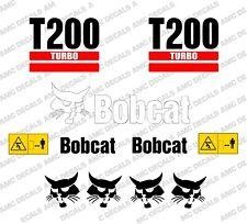 BOBCAT T200 Minipala Set Decalcomania Adesivi