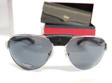 6b67fa466d SANTOS DE CARTIER Brille ESW00007 Genuine Horn Polarized Mirror Sunglasses  NEW