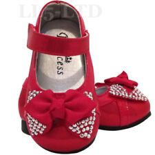 Chaussures fille rouge moyens pour bébé