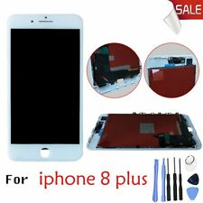 Touch LCD For iPhone 8 Plus White Display Screen Digitizer Assembly +Free Tools