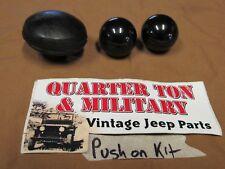 Jeep Willys CJ2A CJ3A M38 M38A1 shift knob kit push on style  Transmission T-90