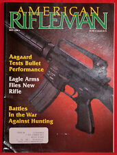 Magazine American Rifleman, MAY 1990 !!WINCHESTER Model 1873 .22 Rimfire RIFLE!!
