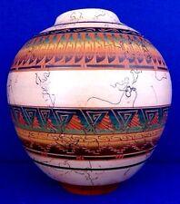 "Vanessa Chaili SIGNED Horse Hair Navajo Seed Pot. 8.5""H x 8""W. 2007"