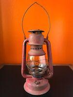 Vintage Lantern BEACON GWS Kerosene Canada Oil Lamp Light camping barn farmhouse