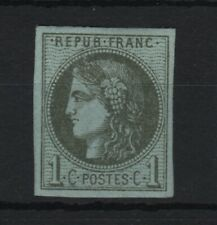 """FRANCE STAMP TIMBRE 39 B """" CERES BORDEAUX 1c OLIVE REPORT 3 """" NEUF xx TTB T924"""